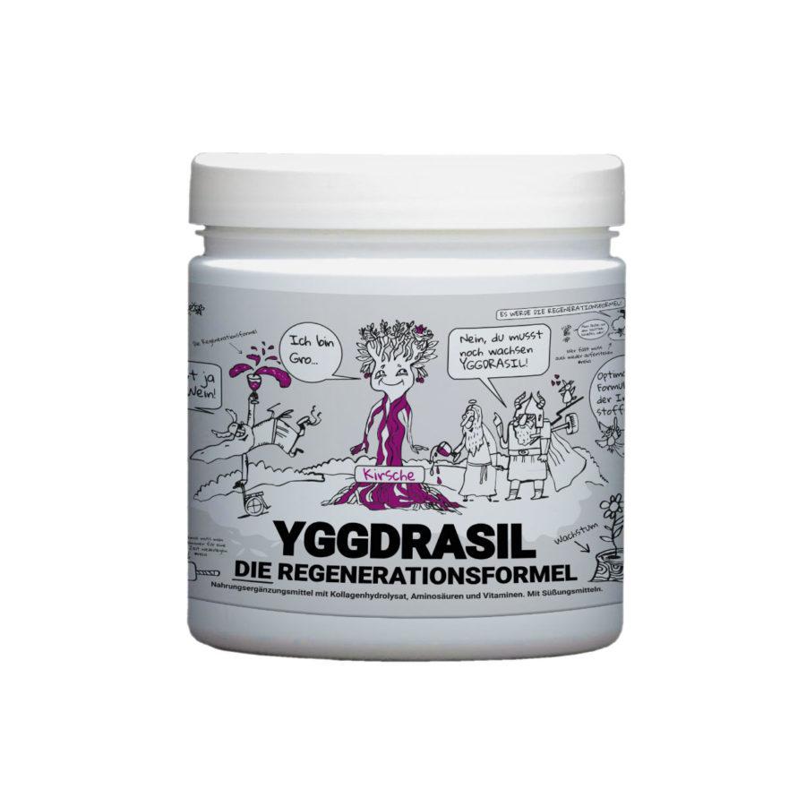 Yggdrasil die Regenerationsformel von Götterspeise Kollagenhydrolysat aus Weidehaltung