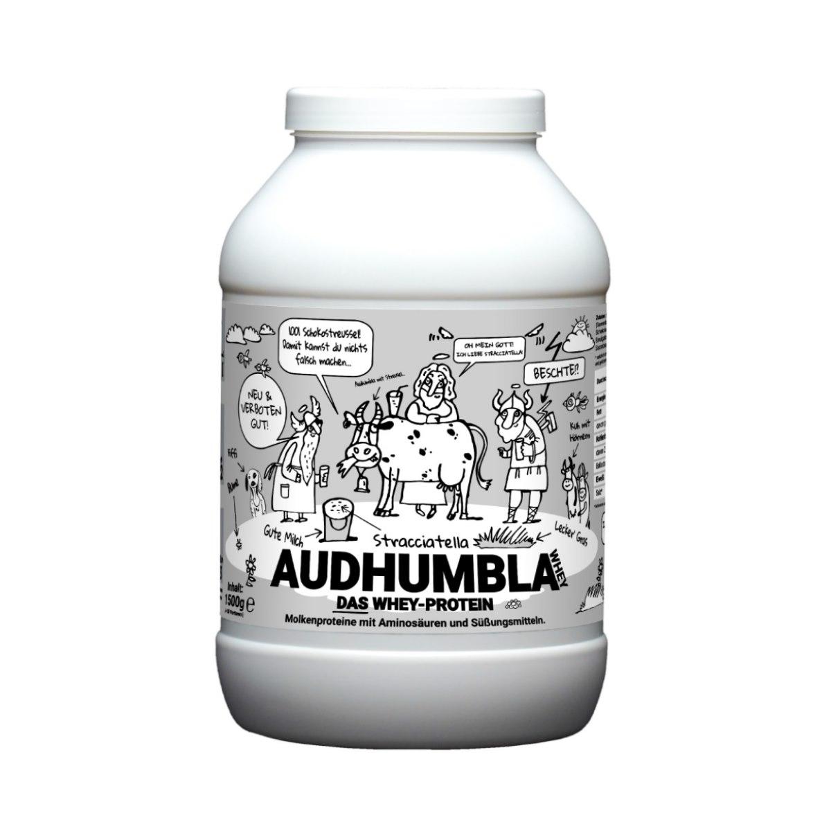 Audhumbla-WHEY-Protein-von-Götterspeise-Stracciatella Bestes Protein