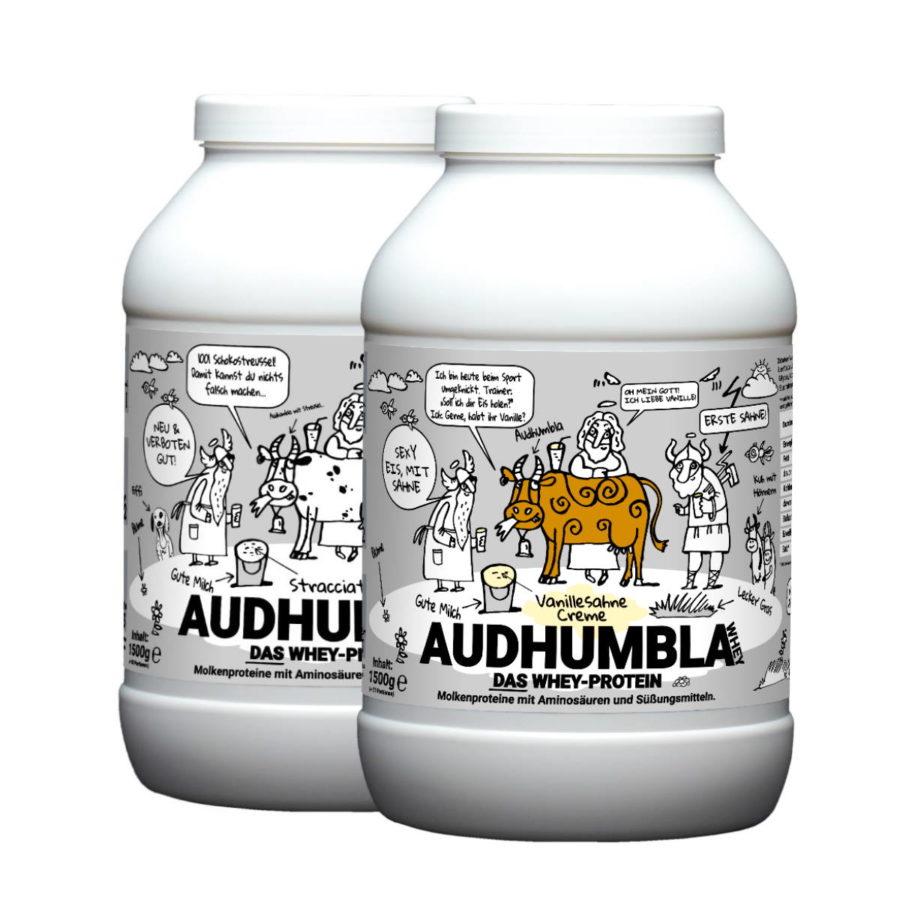 Audhumbla-WHEY-Protein-von-Goetterspeise-Vanillesahne Creme-Bestes-Protein